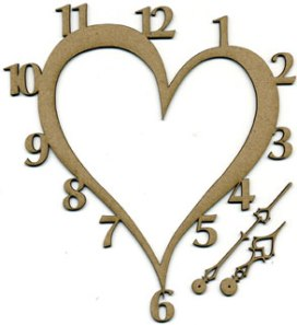 2008127 ScrapFX Clock Face Heart