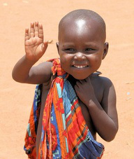 africa-child-waving